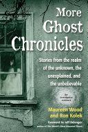 More Ghost Chronicles Pdf/ePub eBook
