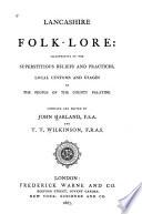 Lancashire Folk lore Book PDF