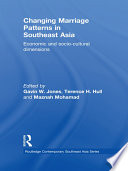 Changing Marriage Patterns in Southeast Asia Book