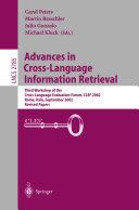 Advances in Cross Language Information Retrieval