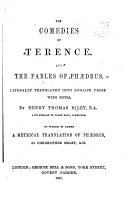 The Comedies Of Terence And The Fables Of Phaedrus [Pdf/ePub] eBook