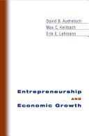 Pdf Entrepreneurship and Economic Growth Telecharger