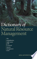 Dictionary of Natural Resource Management
