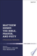 Matthew Henry The Bible Prayer And Piety