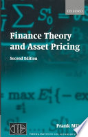 Finance Theory and Asset Pricing Book