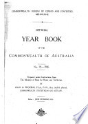 Official Year Book Of The Commonwealth Of Australia No 19 1926