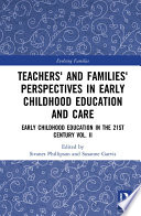Teachers  and Families  Perspectives in Early Childhood Education and Care