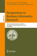 Perspectives in Business Informatics Research - Seite 131