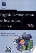English Communication for International Business I Book
