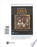 Introduction to Java Programming and Data Structures, Comprehensive Version, Student Value Edition Plus MyProgrammingLab with Pearson EText - Access Card Package