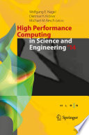 High Performance Computing in Science and Engineering    14