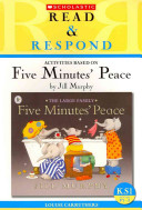 Activities Based on Five Minutes Peace by Jill Murphy