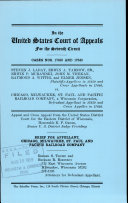 Laday V  Chicago  Milwaukee  St  Paul and Pacific Railroad Company