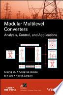 Modular Multilevel Converters