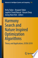 HARMONY SEARCH AND NATURE INSPIRED OPTIMIZATION ALGORITHMS
