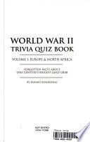 World War II Trivia Quiz Book