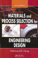 Materials and Process Selection for Engineering Design  Second Edition Book