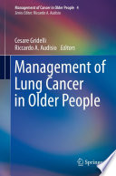 Management of Lung Cancer in Older People Book