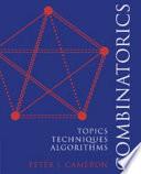 Combinatorics  : Topics, Techniques, Algorithms