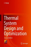 Thermal System Design and Optimization