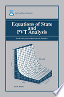 Equations Of State And Pvt Analysis Book PDF