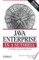 Java Enterprise in a Nutshell Book