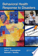 Behavioral Health Response to Disasters Book