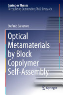 Optical Metamaterials by Block Copolymer Self Assembly