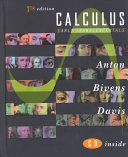 Cover of Calculus, Early Transcendentals