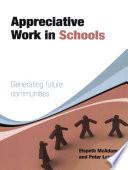 Appreciative Work in Schools
