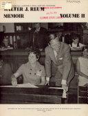 Walter J  Reum Memoir