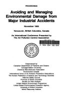 Avoiding and Managing Environmental Damage from Major Industrial Accidents