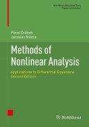 Methods of Nonlinear Analysis
