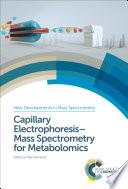 Capillary ElectrophoresisMass Spectrometry for Metabolomics