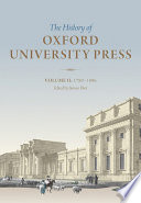 History of Oxford University Press: Volume II