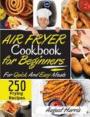Air Fryer Cookbook for Beginners 250 Book