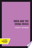 India and the China Crisis
