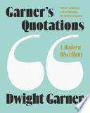 Garner s Quotations