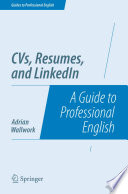 CVs  Resumes  and LinkedIn