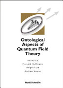 Ontological Aspects of Quantum Field Theory