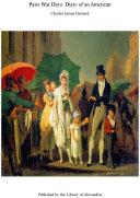 Paris War Days: Diary of an American