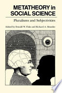 Metatheory in Social Science
