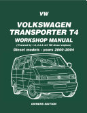 VW Transporter T4 (Petrol and Diesel - 1990-1995) Workshop Manual