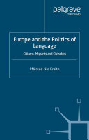 Europe and the Politics of Language