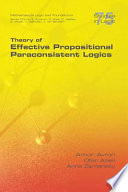 Theory of Effective Propositional Paraconsistent Logics