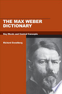 The Max Weber Dictionary