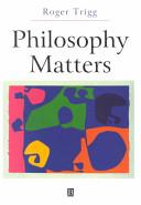 Philosophy Matters Book