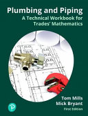 Plumbing  Piping  and Steamfitting Workbook for Mathematics for the Trades