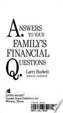 Answers to Your Family's Financial Questions