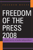 Freedom of the Press 2008